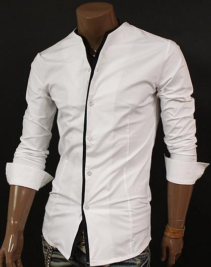 Black Shirt With White | Is Shirt