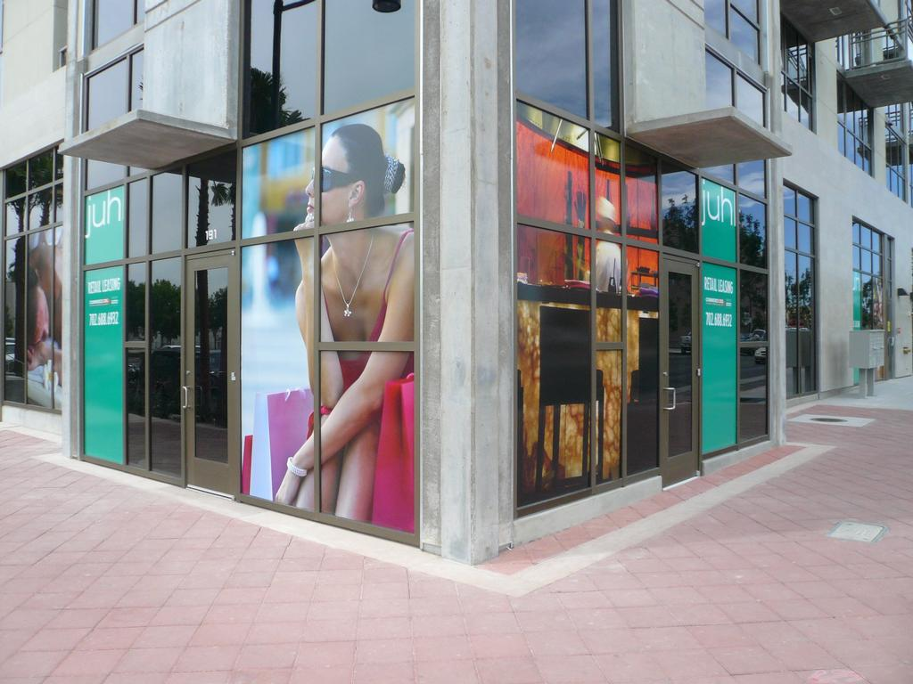 Store front full color window display printing jpg from for Window transfers