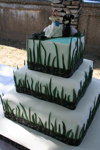 How to Make Camouflage Wedding Cakes Pictures Prepare Weddings