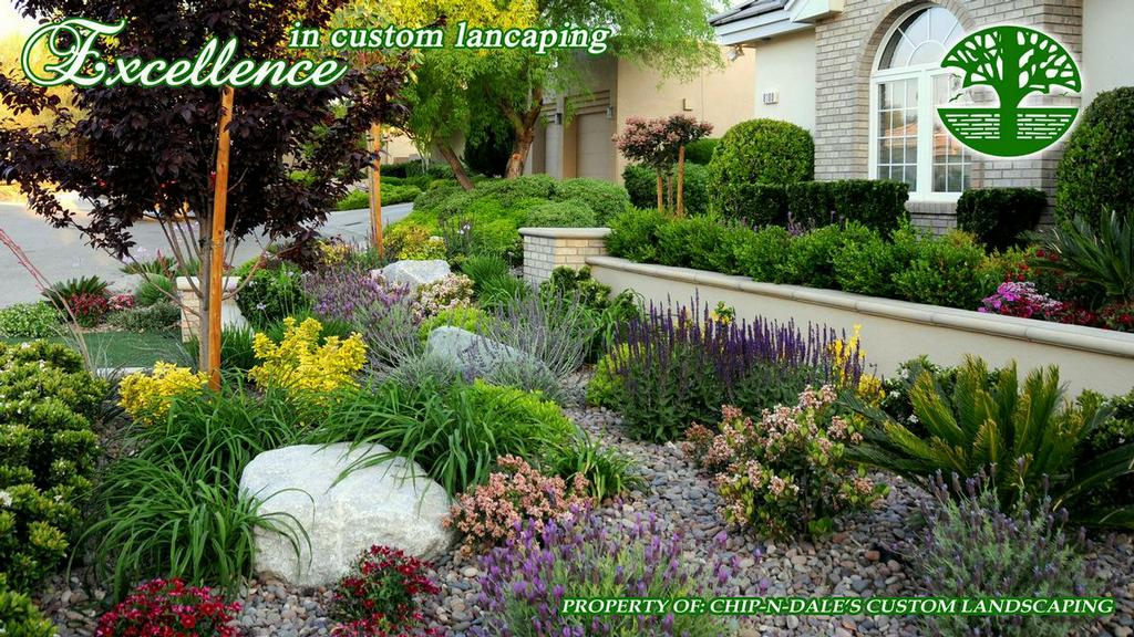 Chip n dale 39 s custom landscaping las vegas nv 89109 for Custom landscape design