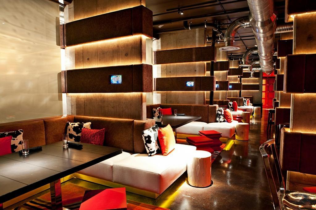 Nylo hotel. Dallas, TX The loft restaurant, Hotel