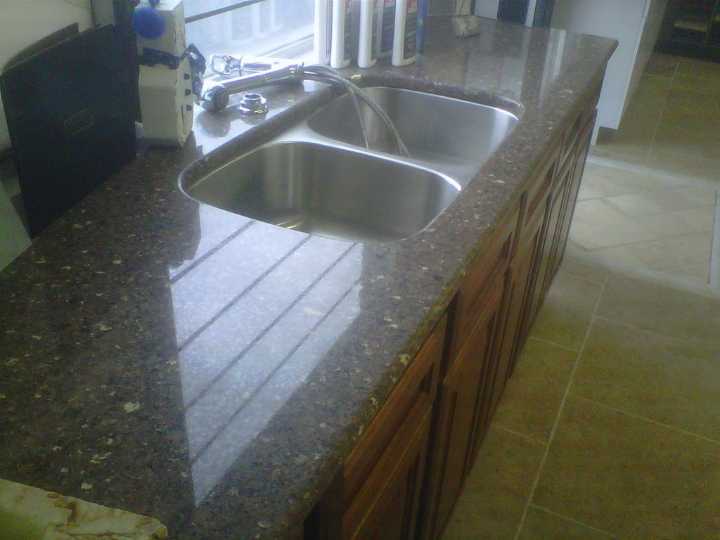Silestone with an undermount sink from wilcox stone inc in for Silestone sink reviews
