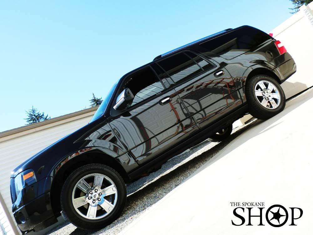 The spokane shop auto car truck van rv window tint tinting 3m clear