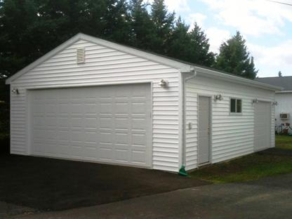 Garage builder duluth garage packages garage building for Cost of building a house in mn