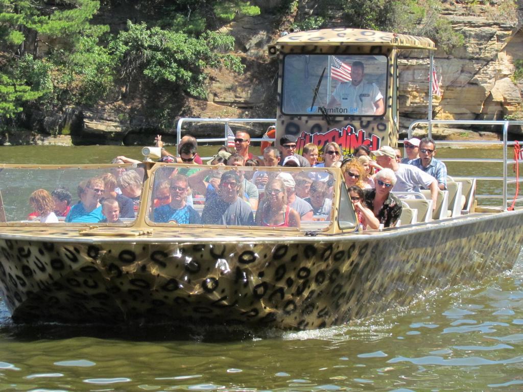 Wi Dells Jet Boat Tours