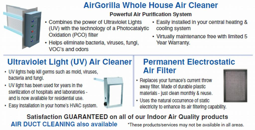 Sears Air Duct Cleaning Cost