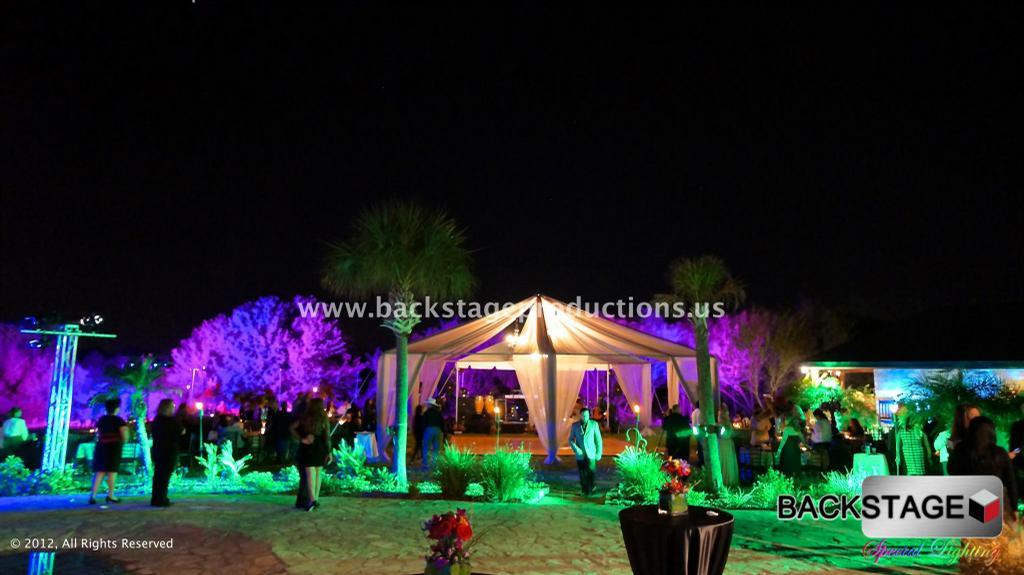 pictures for backstage special event lighting in mcallen. Black Bedroom Furniture Sets. Home Design Ideas