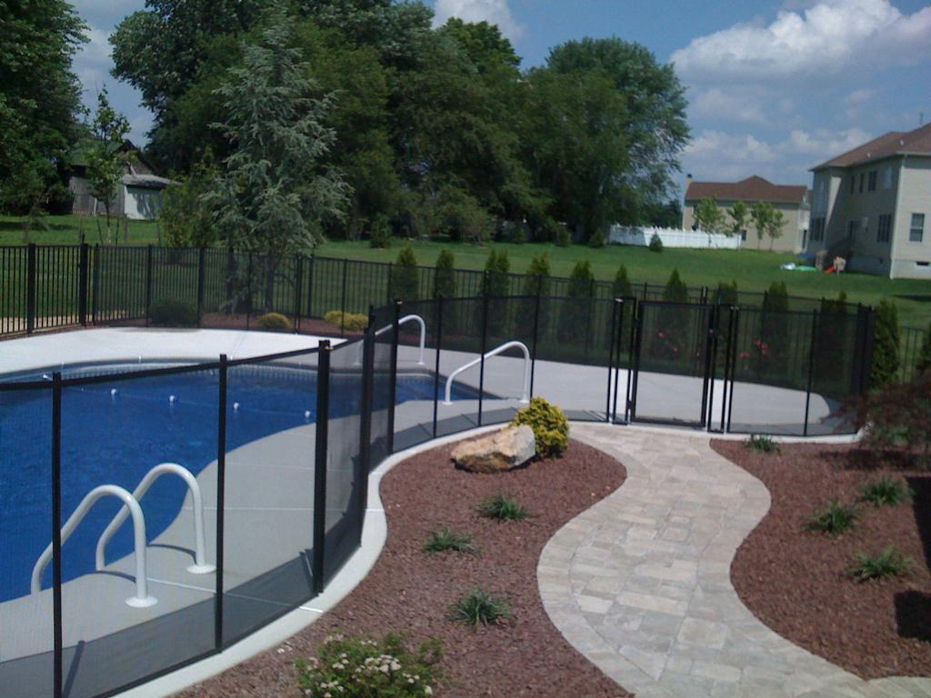 Baby barrier pool safety fence of nj belmar