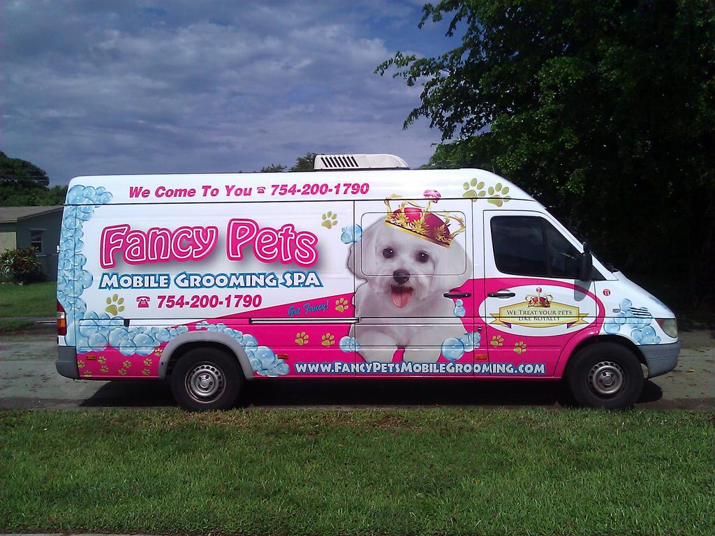 Pictures For Fancy Pets Mobile Pet Grooming Llc In Fort Lauderdale