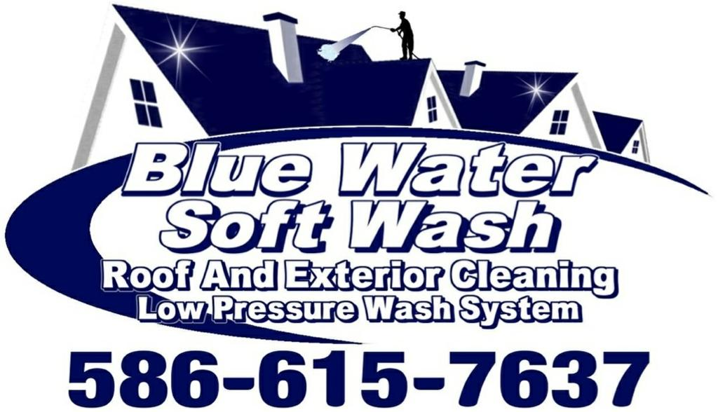 Blue Water Soft Wash Roof And Exterior Cleaning Croswell Mi 48422 586 615 7637
