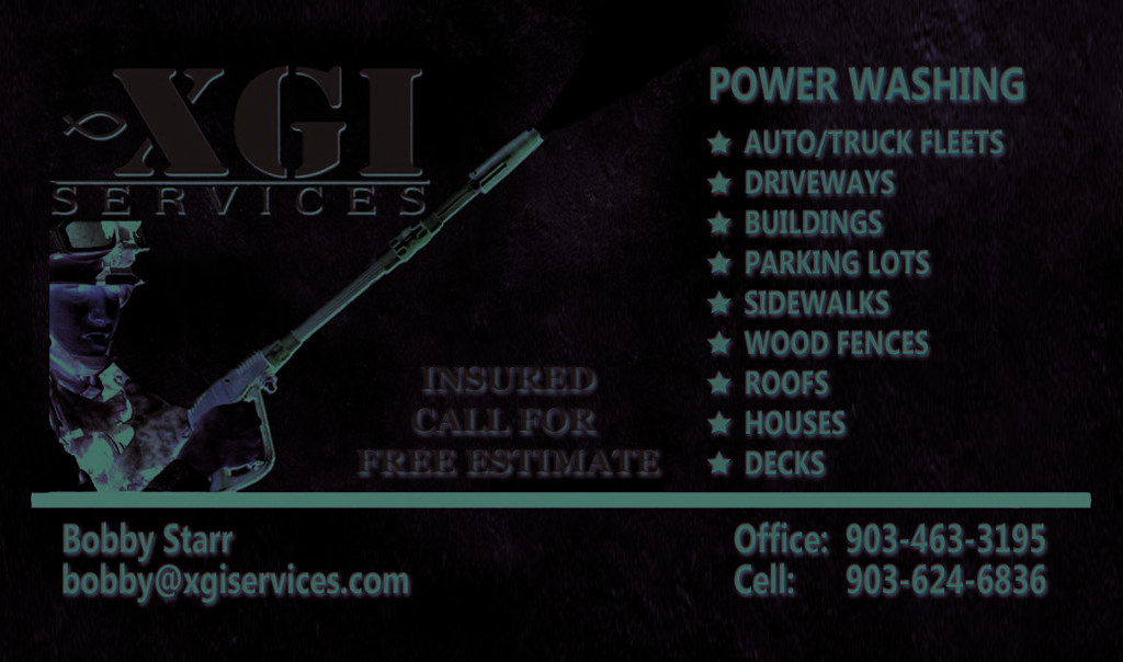 Nice Pressure Washing Business Cards Pictures Inspiration - Business ...