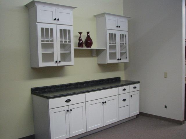 White Painted 6 Square Cabinets By Direct Kitchen And Bath