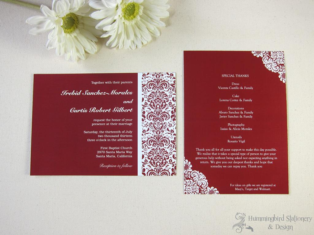 Hotel Inserts For Wedding Invitations - Menshealtharts