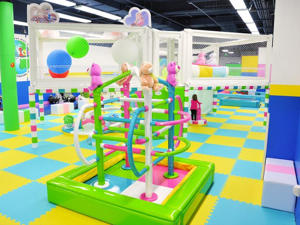 Dancing jungle gym from yu kids island llc indoor for Indoor party places for kids