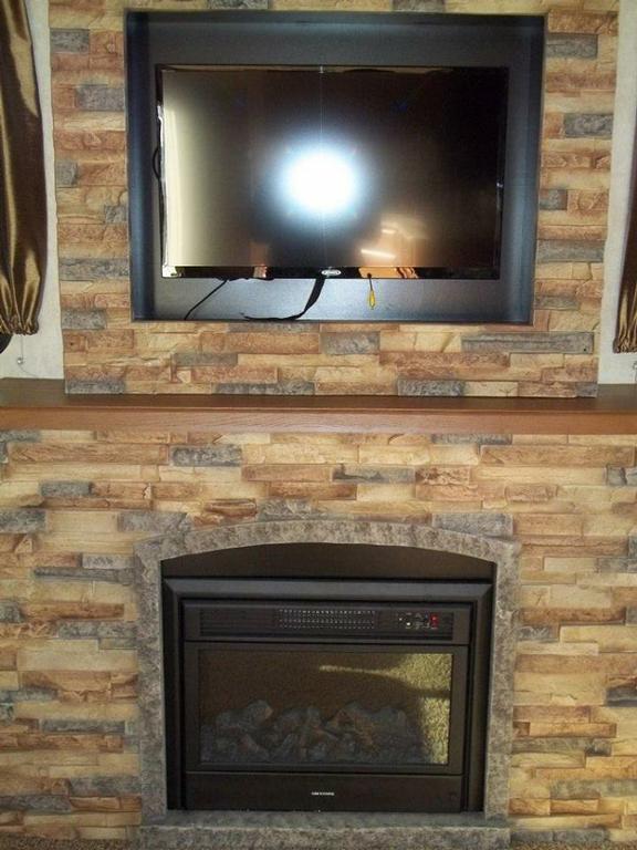 electric fireplace in trailer kelso wa from u neek rv