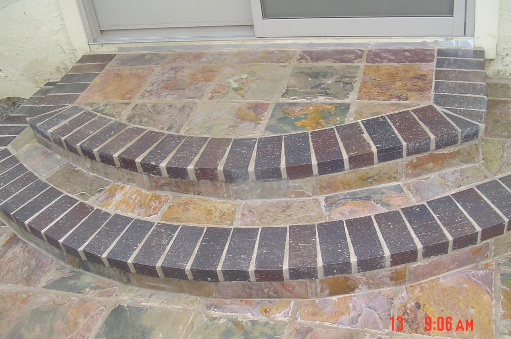 Slate Tiles For Backyard : Pictures for Trans Bay Tile in Concord, CA 94521  Tiling & Flooring