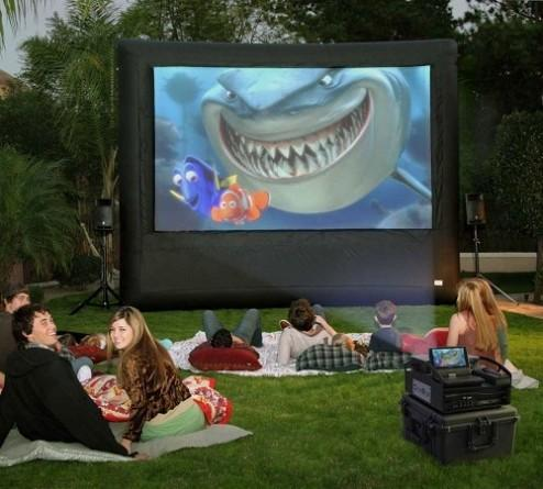 Downs Party Rental Outdoor Movie Screen