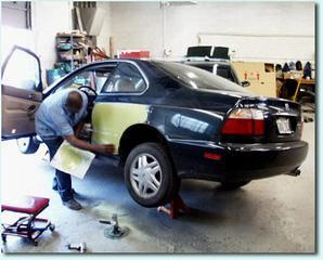 auto body job description
