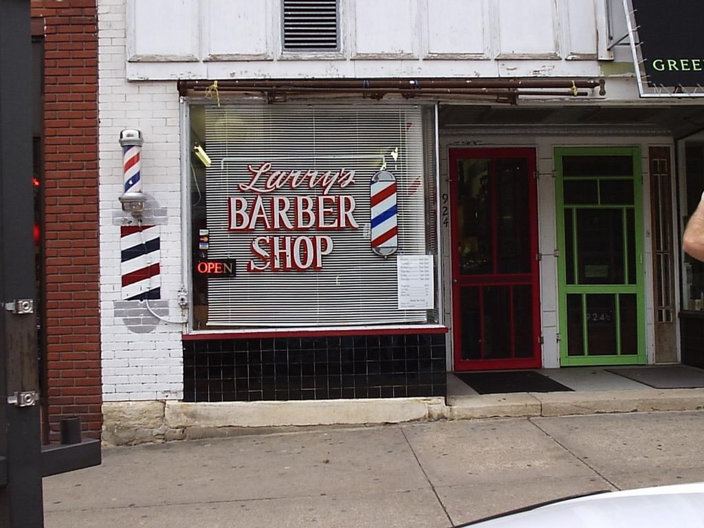 Barber Shop Lawrence Ks : Larrys Barber Shop - Lawrence KS 66044 785-842-2634 Barbers