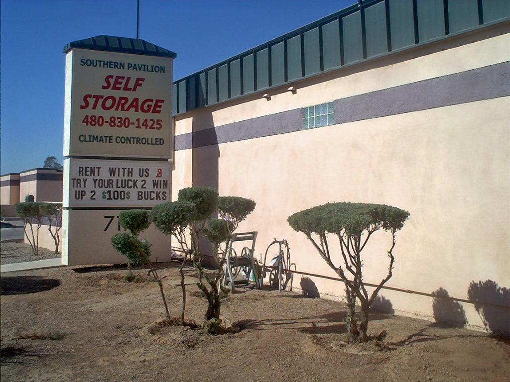 Southern Pavilion Self Storage Mesa Az 85209 480 830 1425