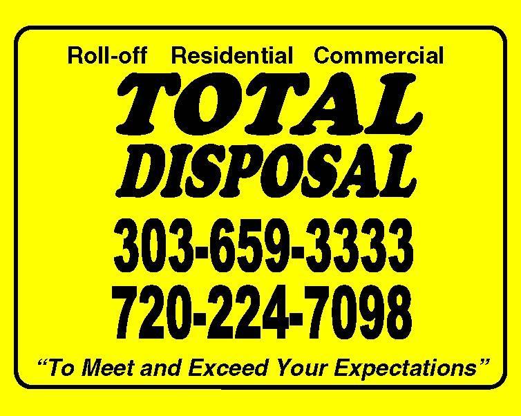 Total Disposal Roll Off Dumpster Services Denver - Homestead Business Directory