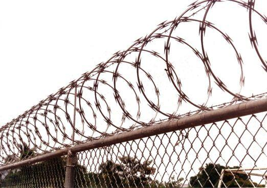 Razorwire fence fencing