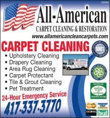 Flyer banner all american from All American Carpet Cleaning and ...