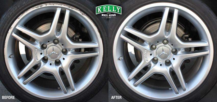Kelly wheel repair mercedes benz cls 550 from kelly for Mercedes benz rocklin service