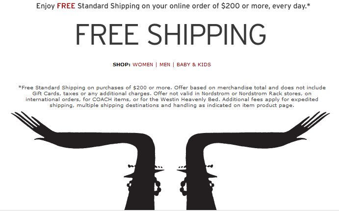 Nordstrom Coupon June 2012