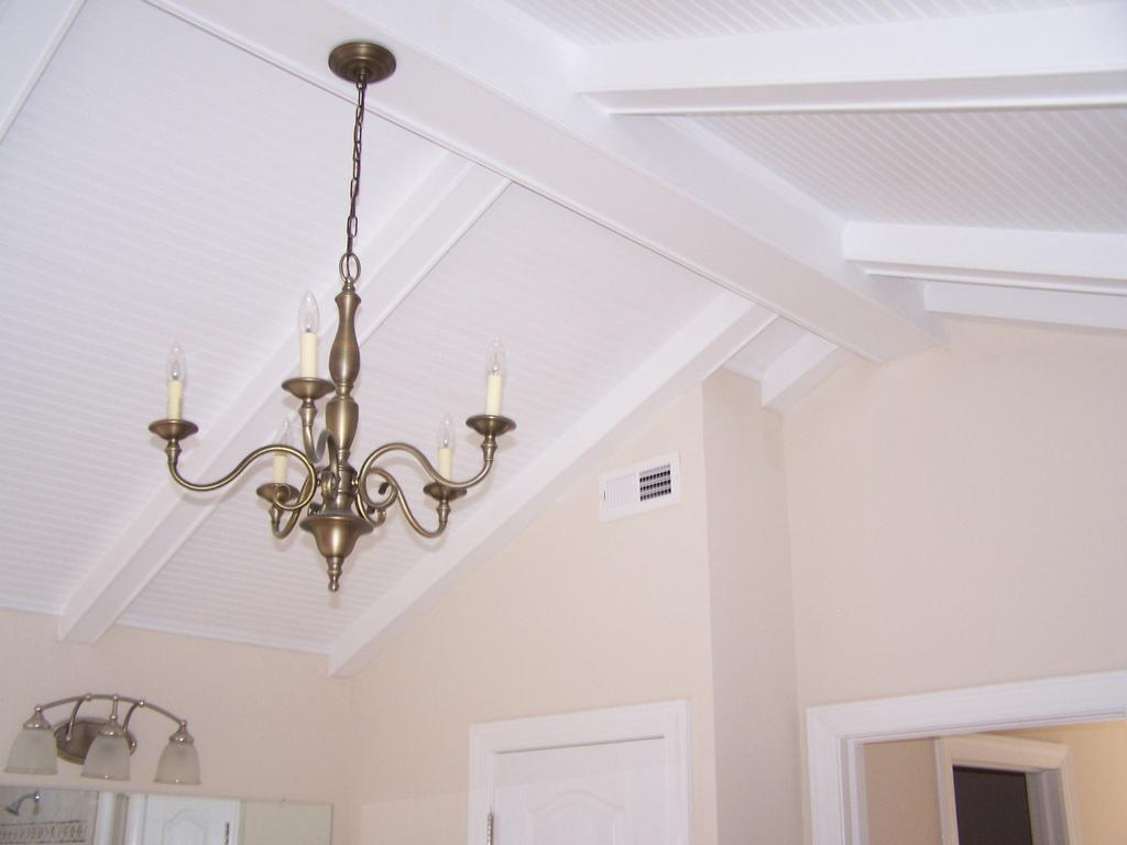 2 decorative beams wood cei from the furniture trim for Decorative ceilings