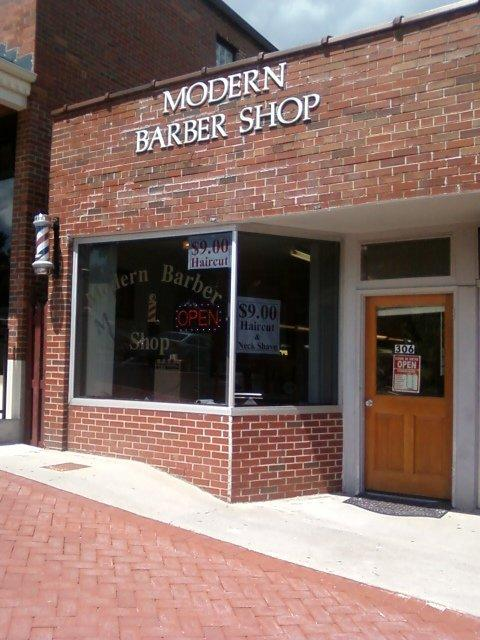 Modern barber shop blacksburg va 24060 540 449 5025 for Tattoo shops roanoke va