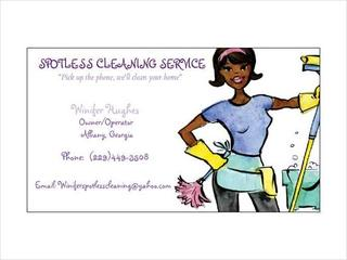 Advertisement Spotless Cleaning Service from Spotless Cleaning ...