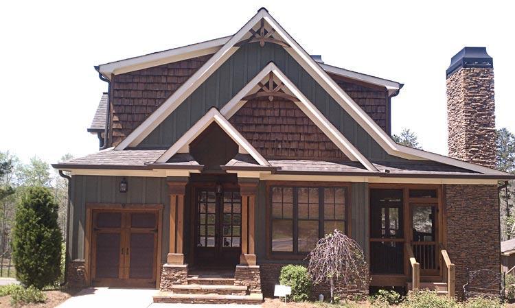 Max Fulbright Lake House Plans