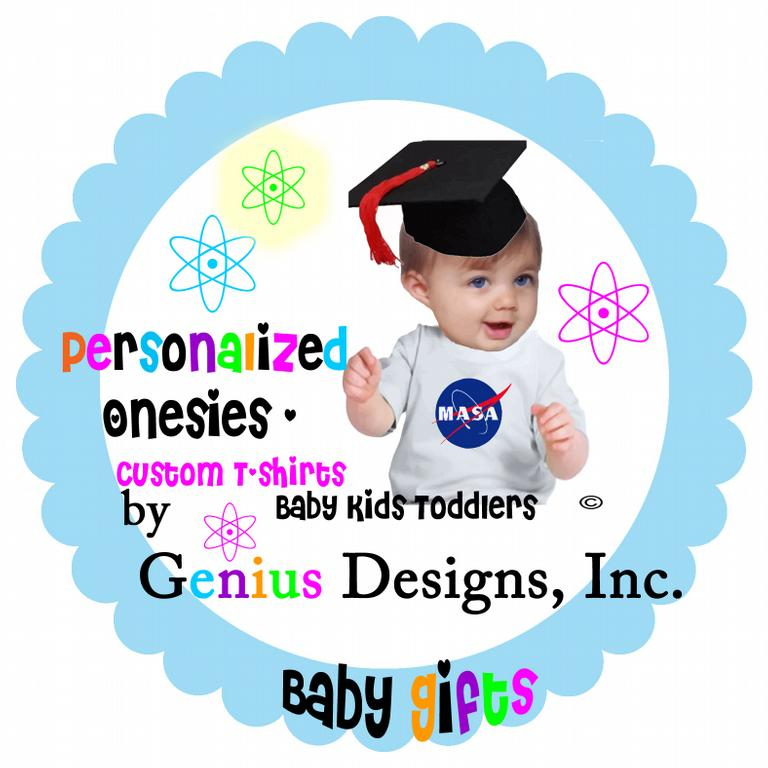 Genius designs baby boutique onesies personalized for Baby custom t shirts