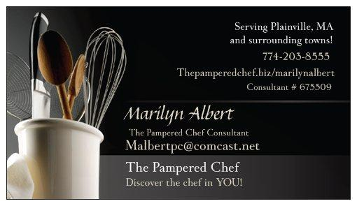 Pictures for the pampered chef with malbert in plainville ma 02762 bcard colourmoves Images