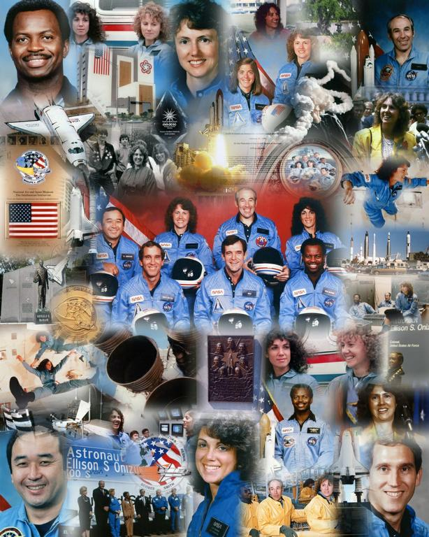 space shuttle challenger crew names - photo #13