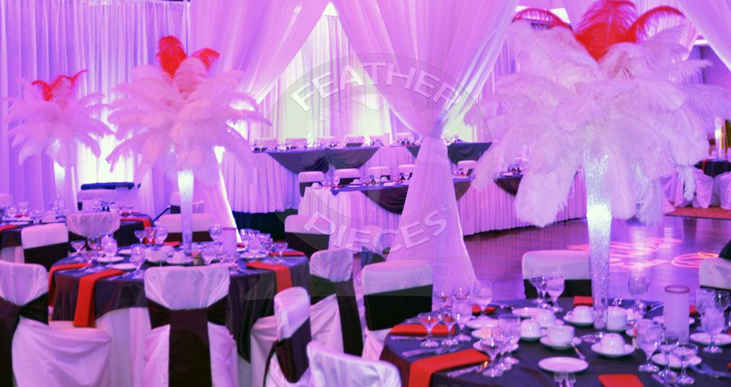 Ostrich Feathers Wedding Centerpieces Images Wedding Decoration Ideas