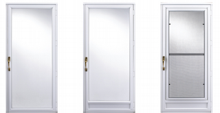 Superior quality storm doors at affordable prices free for Storm door prices