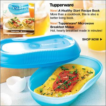 Tupperware (Breakfast Maker and Receipe Book) from The ...
