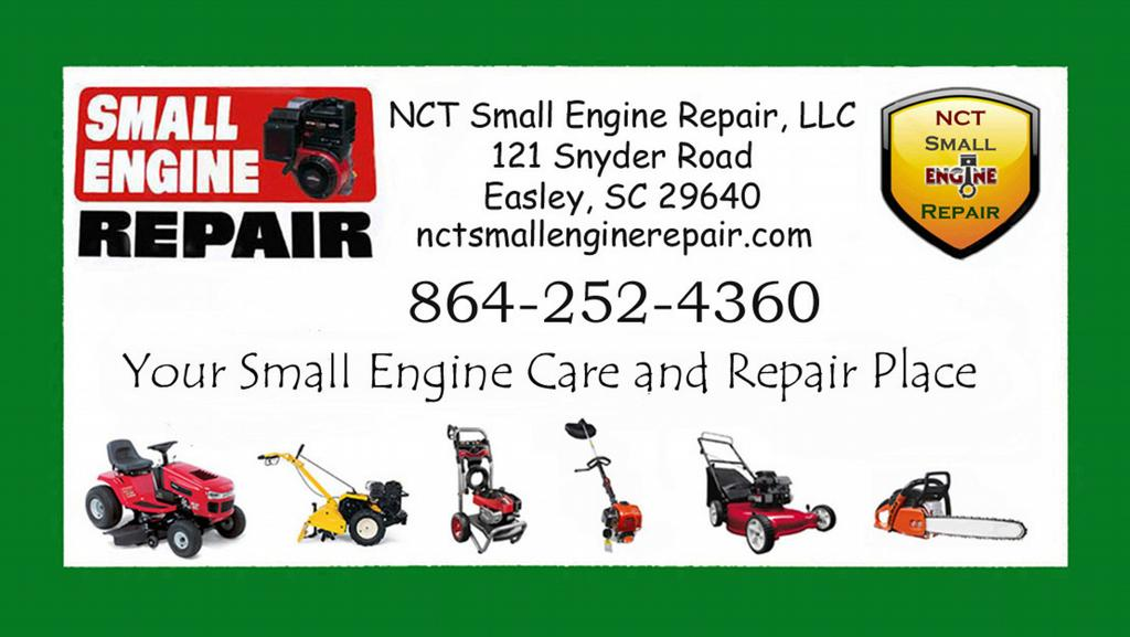 Pictures For Nct Small Engine Repair Llc In Easley Sc 29640