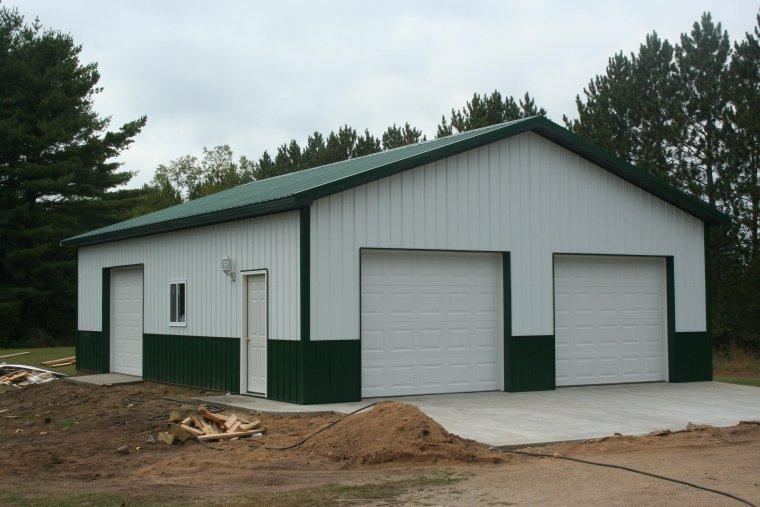 Afera pole barn house plans ky for Pole barn garage plans