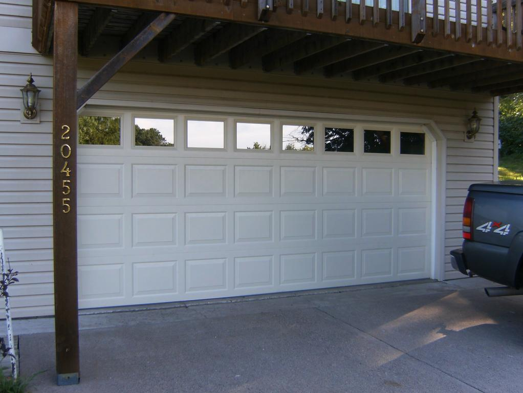 Insulated garage door w insulated glass windows from for Best insulated glass windows