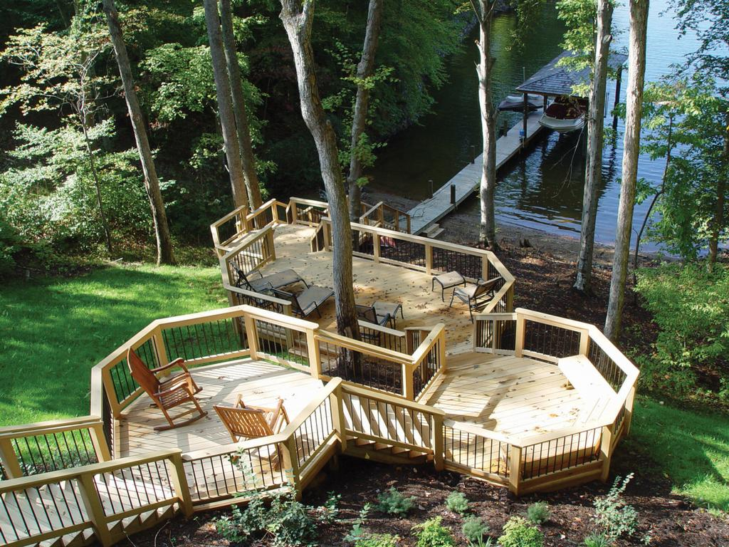 Deck Ideas For Steep Backyard : Pictures for Archadeck of Central Arkansas in Alexander, AR 72002