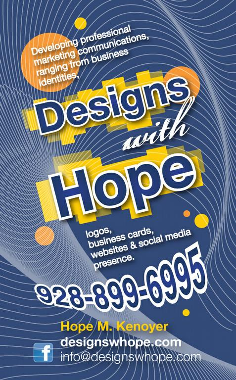 Designs With Hope - Dewey AZ 86327 : 928-899-6995 : Design