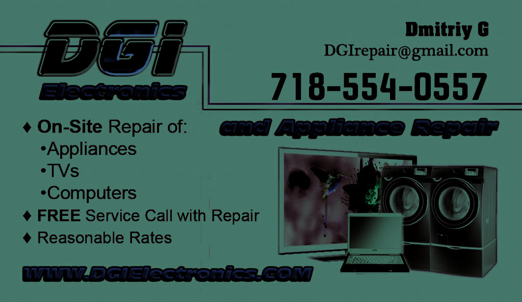 Dgi Electronics And Appliance Repair Staten Island Ny