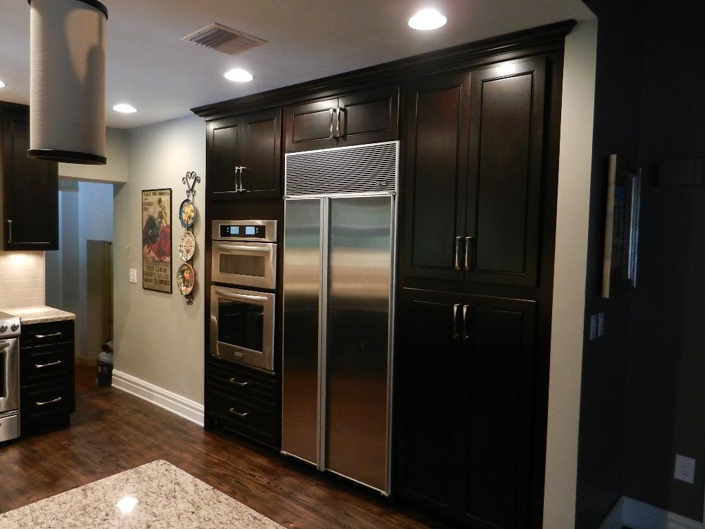 Picture: espresso cabinets.JPG provided by Superior Kitchen and ...