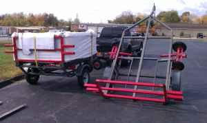 2 Of Our Spa Dolly System Carts In Kansas City From Kansas City