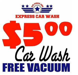 Pictures for air force one express car wash in albuquerque for Motor vehicle express albuquerque