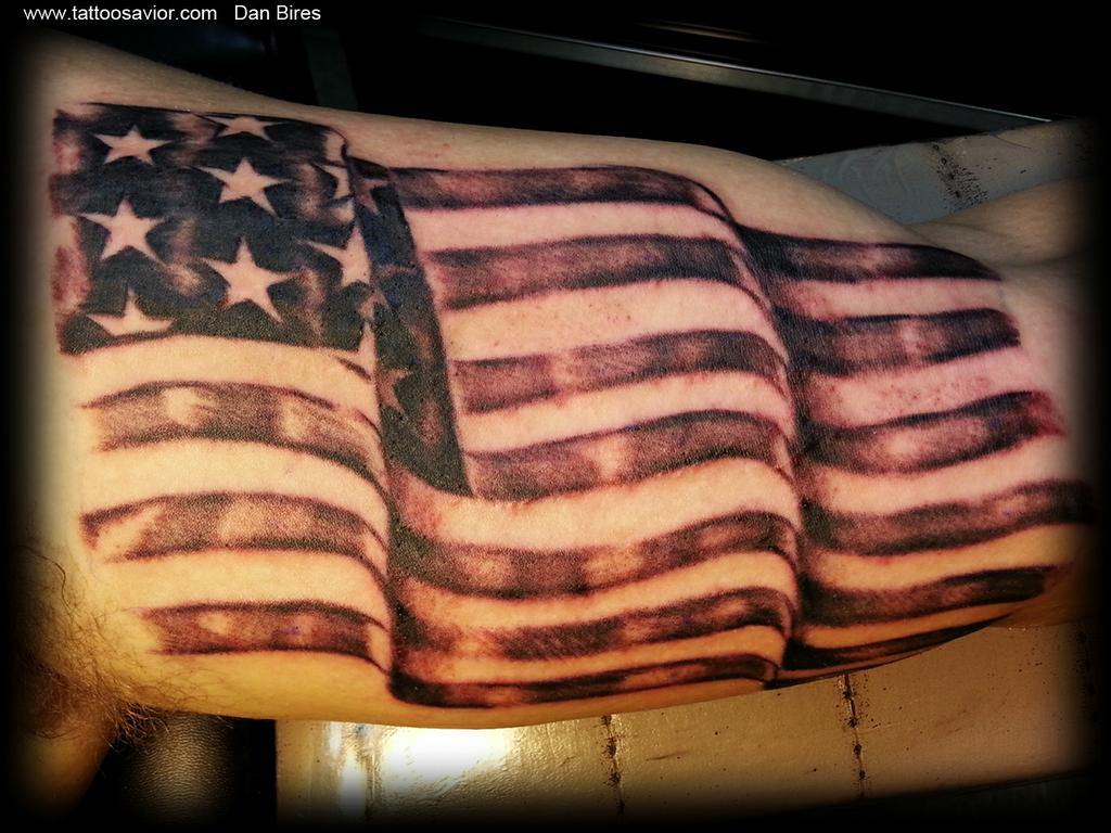 Pictures for tattoo savior in monongahela pa 15063 for American flag tattoos pictures