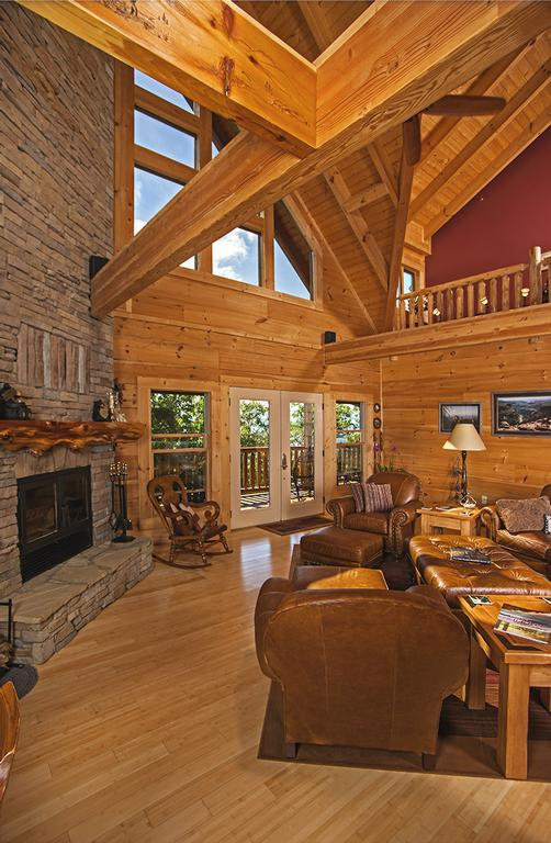Pictures For Custom Timber Log Homes In Maryville Tn 37801